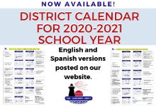 calendar available for 2020-21