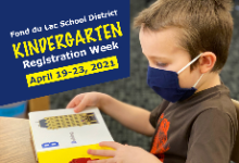 Kindergarten Registration Week
