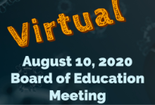 August 10 Board Meeting