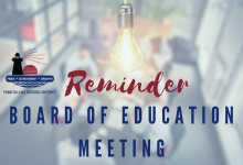 Board Meeting Reminder