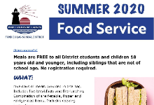 Summer 2020 Food Service preview