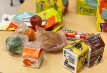 Photo of breakfast and lunch pack