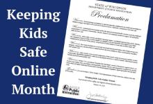 Keeping Kids Safe Online Month