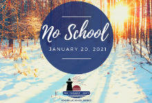 No School Jan. 20, 2021