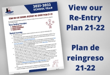 View our Re-entry plan for 21-22