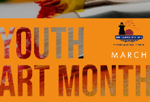 Youth Art Month graphic