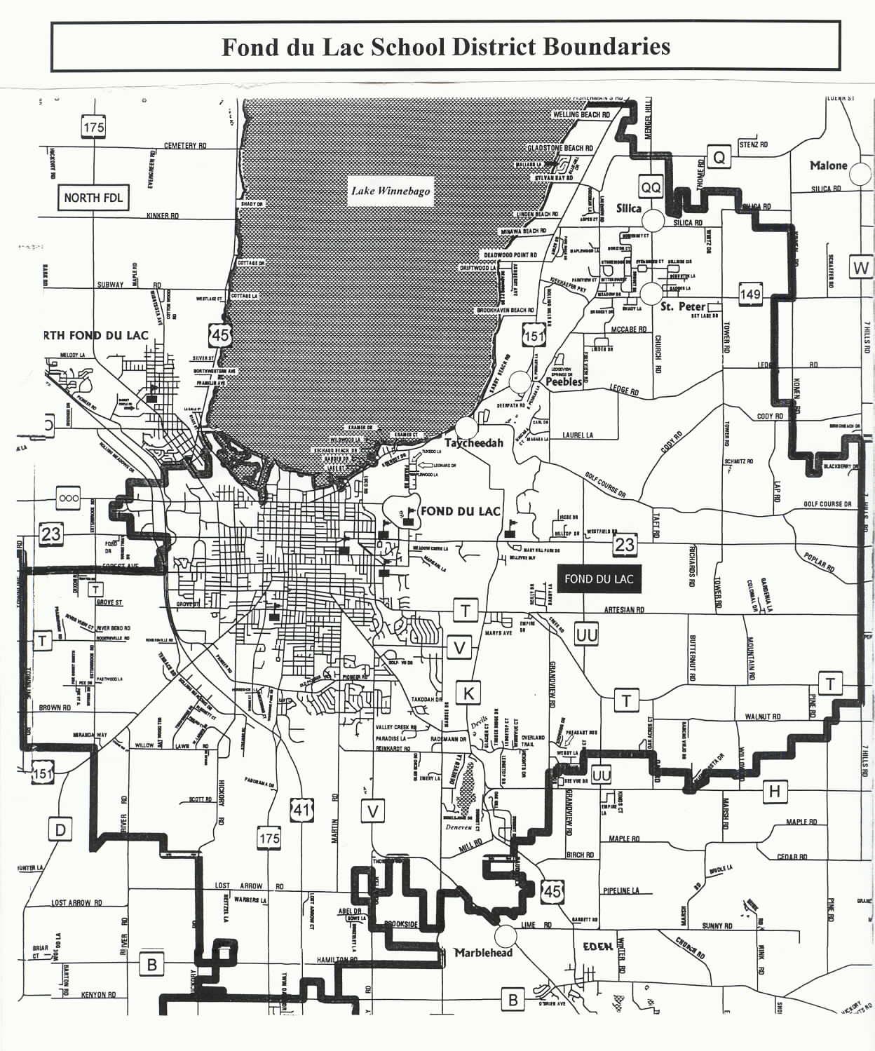 District Map Boundaries