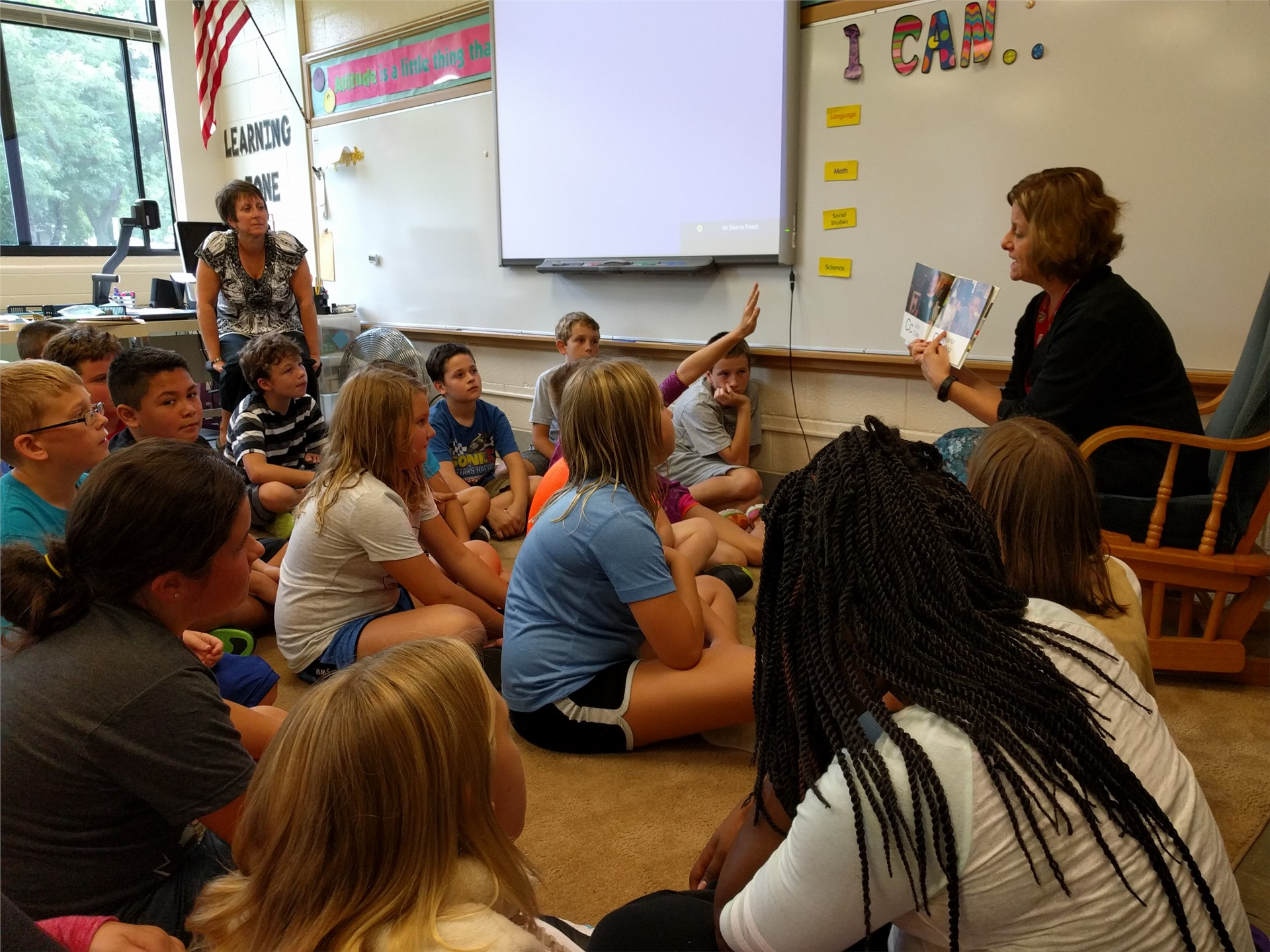 Being Active Listeners During Reading Time