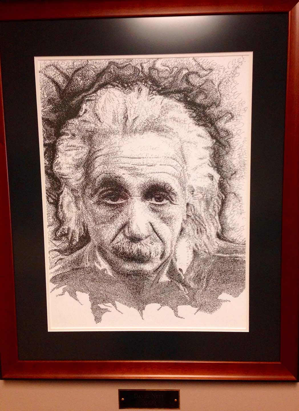 Artwork Albert Einstein Pencil Sketch