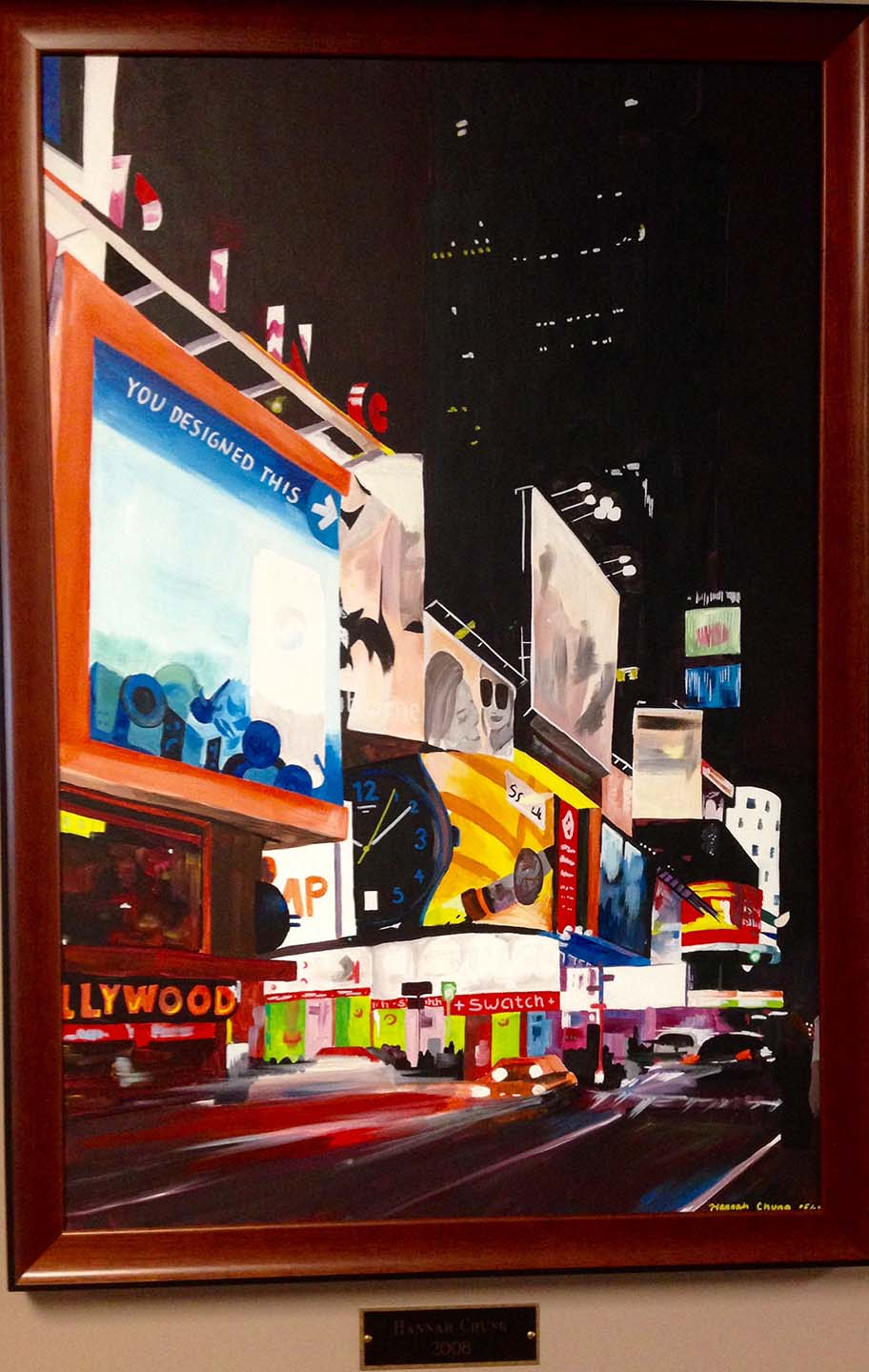 Artwork Times Square Style Storefronts