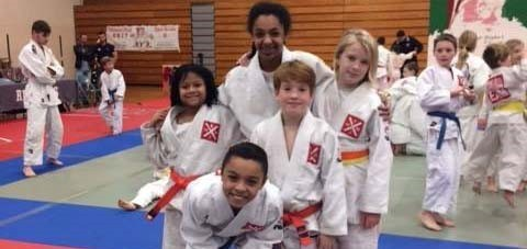 Riverside Karate Club Students at Practice