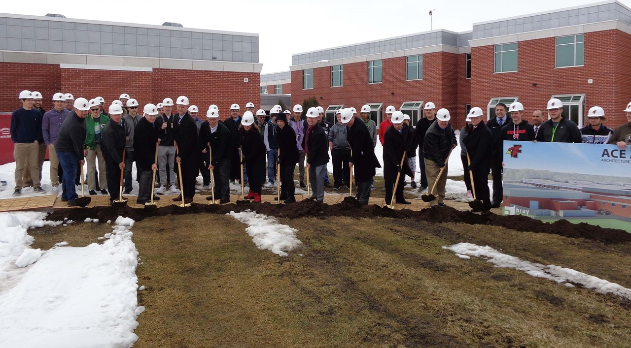 Fondy High's ACE Groundbreaking Ceremony