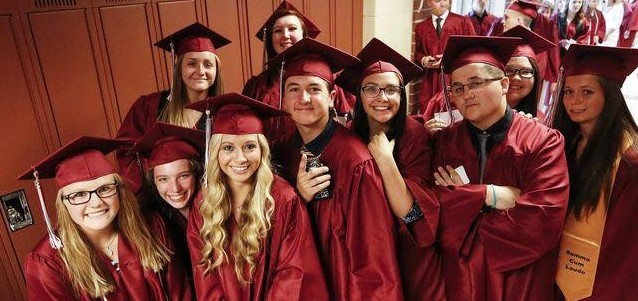 2018 Graduation students