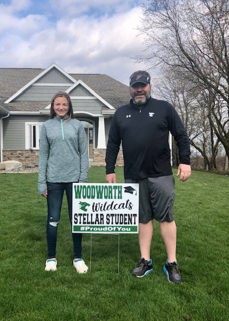 Woodworth Wildcat- Stellar Student