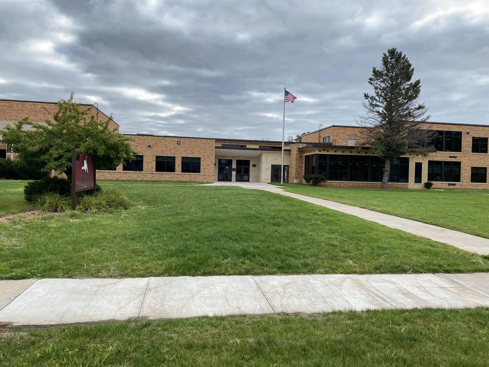 Waters front of school