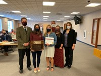 Friend of Education Award presented to Fond du Lac County Health Department